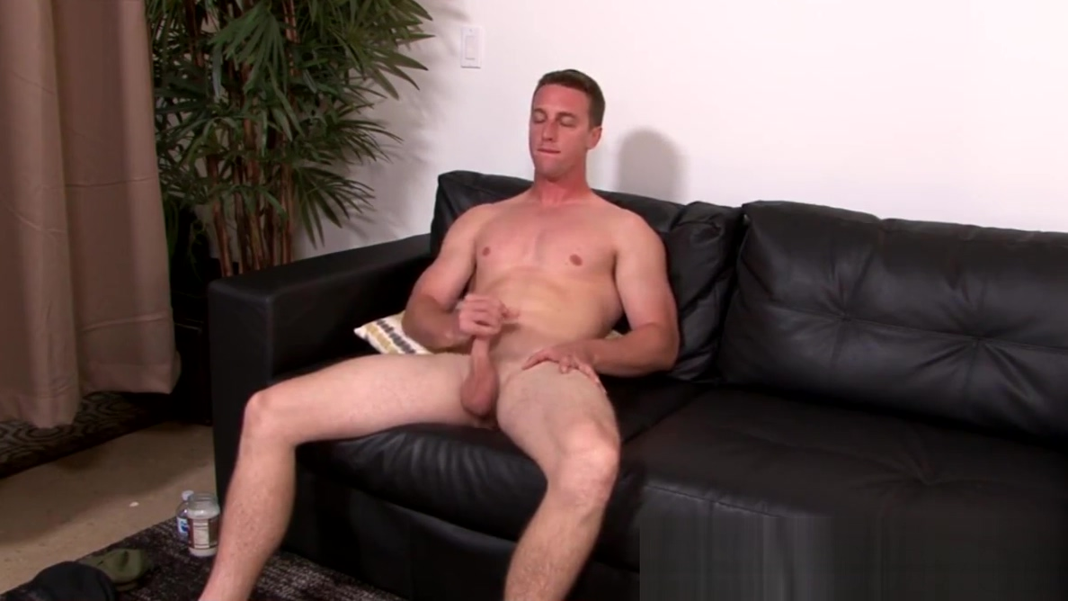 Cute soldier boy grabs his trimmed dick and jerks it off Sexy girls sucking on cock heads