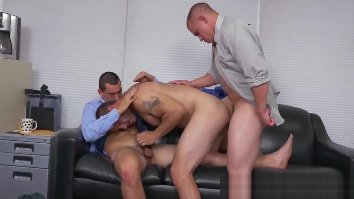 Three gay colleagues are having an anal party at the office Cat and lawson hook up big brother