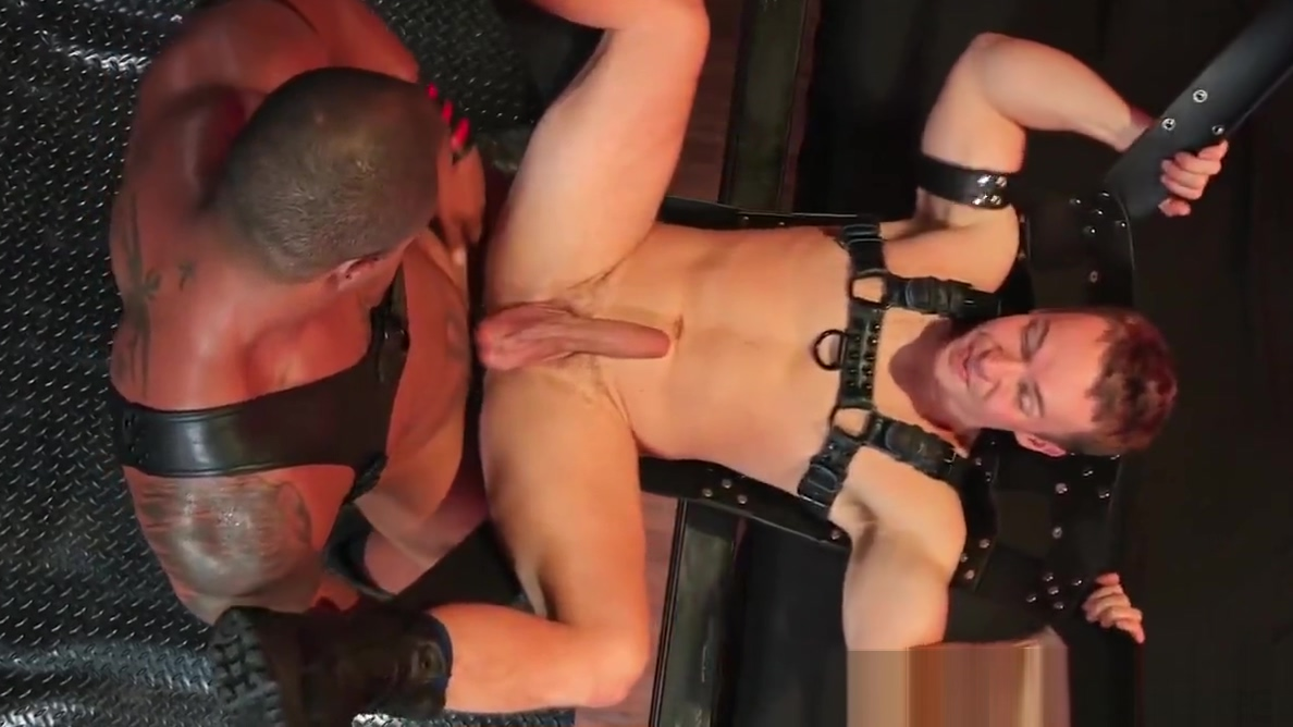 Big Black Dick & Big White Dick In Rough BDSM Daddy Fetish Homemade amateur couple having fun