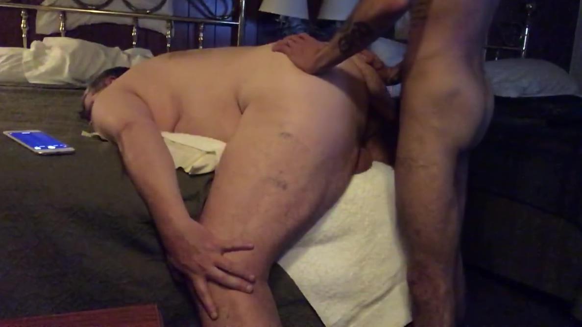 Dreidel Time for Papa Bear Big huge large naked ass
