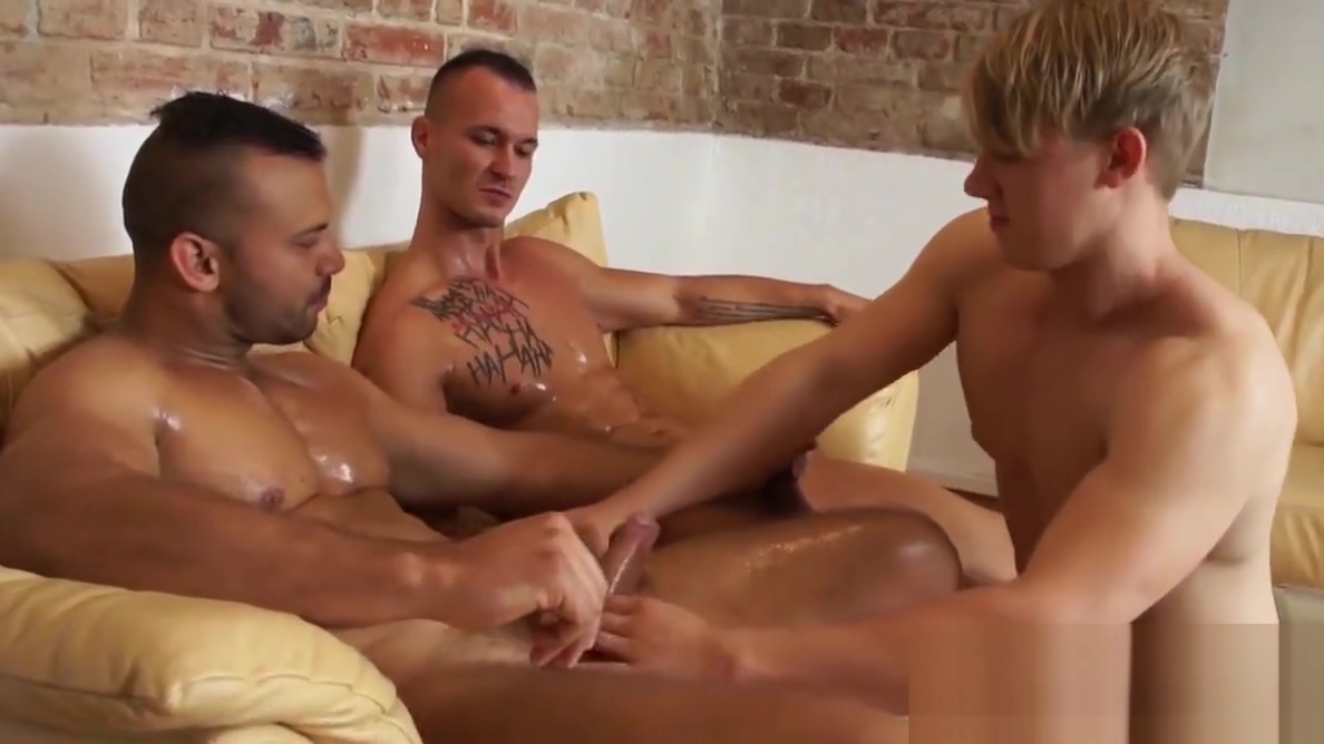 Twink and muscular guys have an oily threesome on the sofa genarlow wilson sex tape download