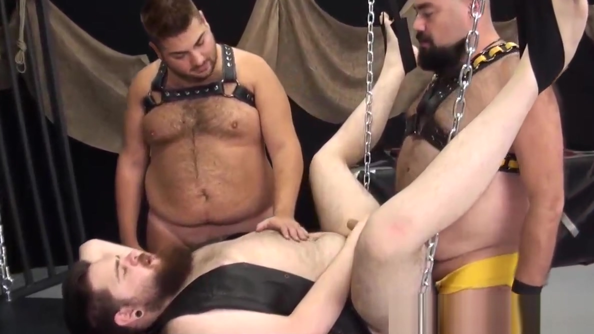 Chubby leather bear cums in bareback trio phineas and ferb candace sex