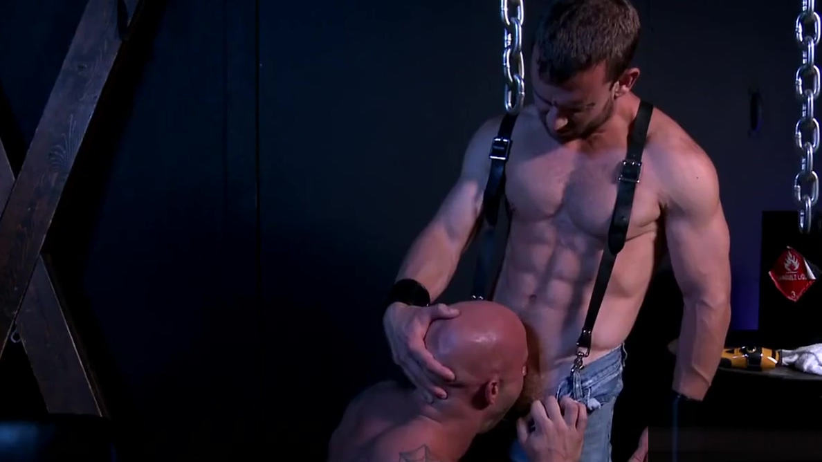 Gay intercourse in the dungeon mom has got big boobs