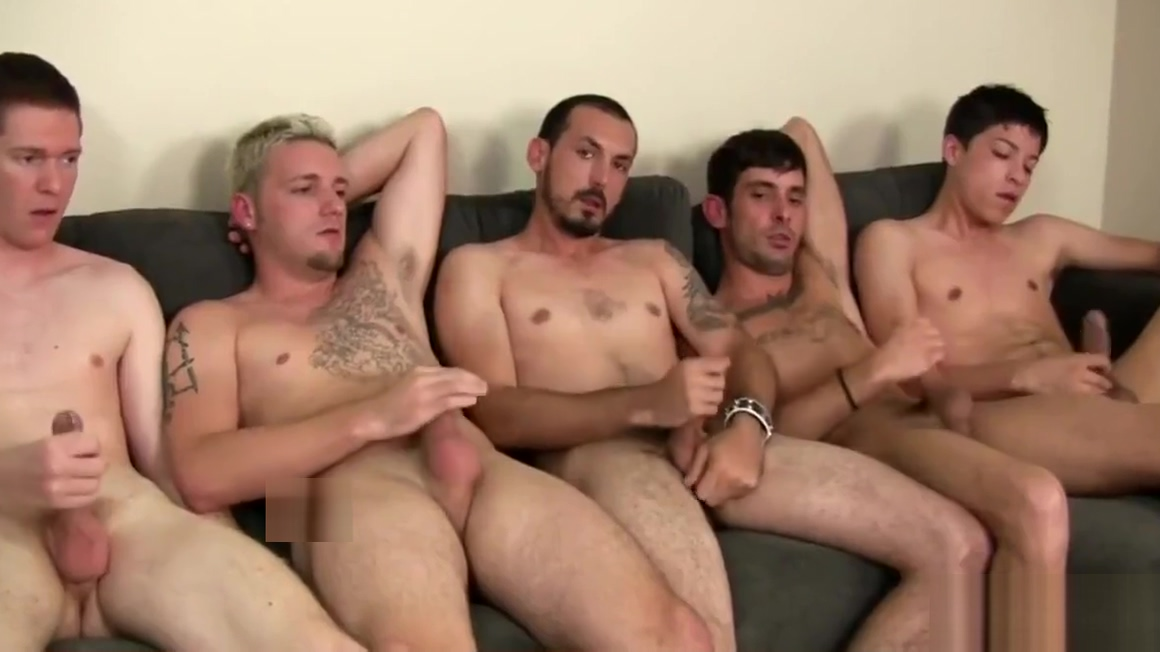 Five men circle jerk Nude app download