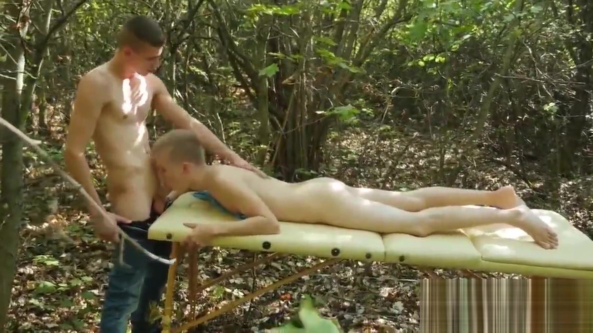 Paul Wolf gets straight to drilling hot twink Tim Law Melanie sky
