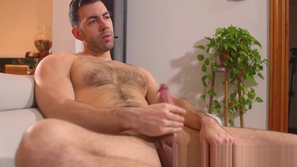 Handsome muscular stud jerking off his big thick cock Chanel Preston Boom Goes The Bum