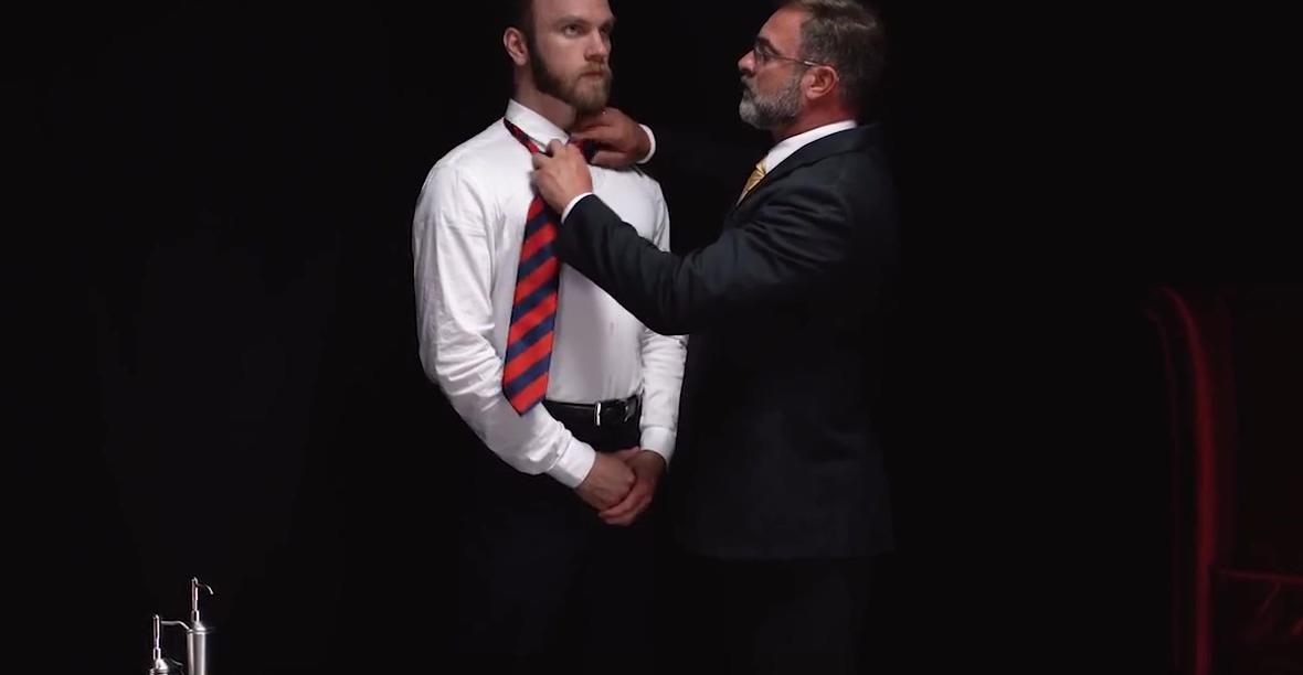 MormonBoyz - Sexy daddy priest punish fucks his subordinate stream sex movies stream