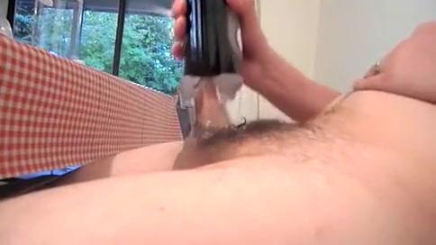1St cum with the Tenga Flip Gap Free voyeur clips