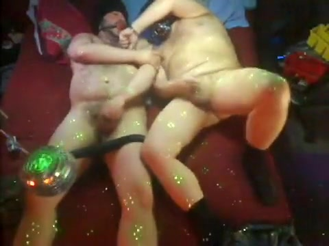 Dad & fellow gagged & in black socks at Franks 12m16s he fucked my tits