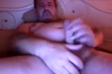 Brit dad on web camera discharges sex cream Fat grannies having sex