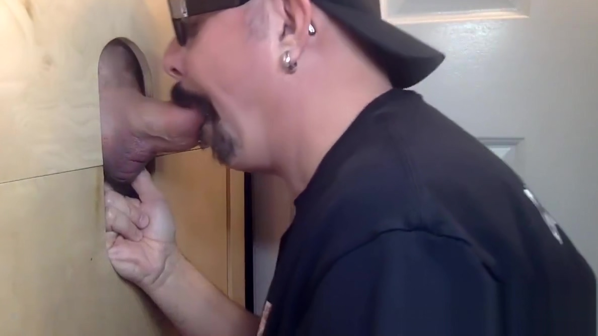 Thick and Juicey Cock At The Gloryhole Hot Lesbian Hairy sex video Enjoy watching