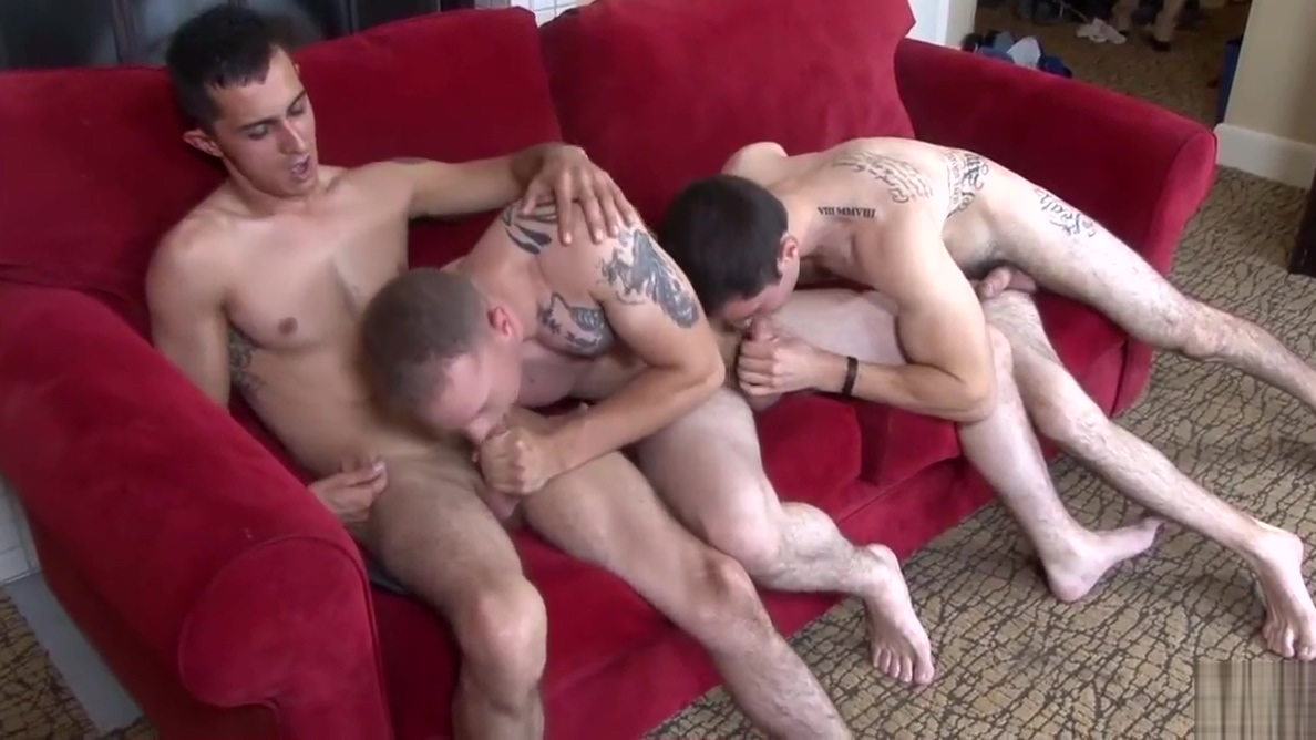 Hot Military Threesome Licking spunk how porn