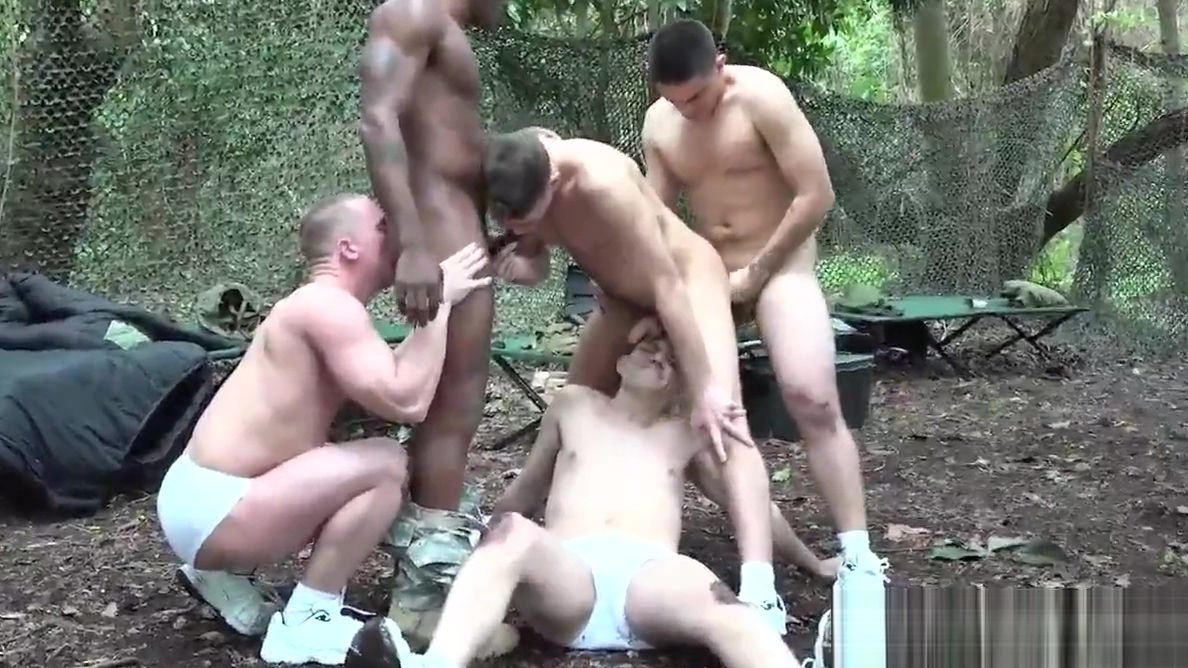 Military muscle hunks groupfucking outdoors Mature from behind balcony