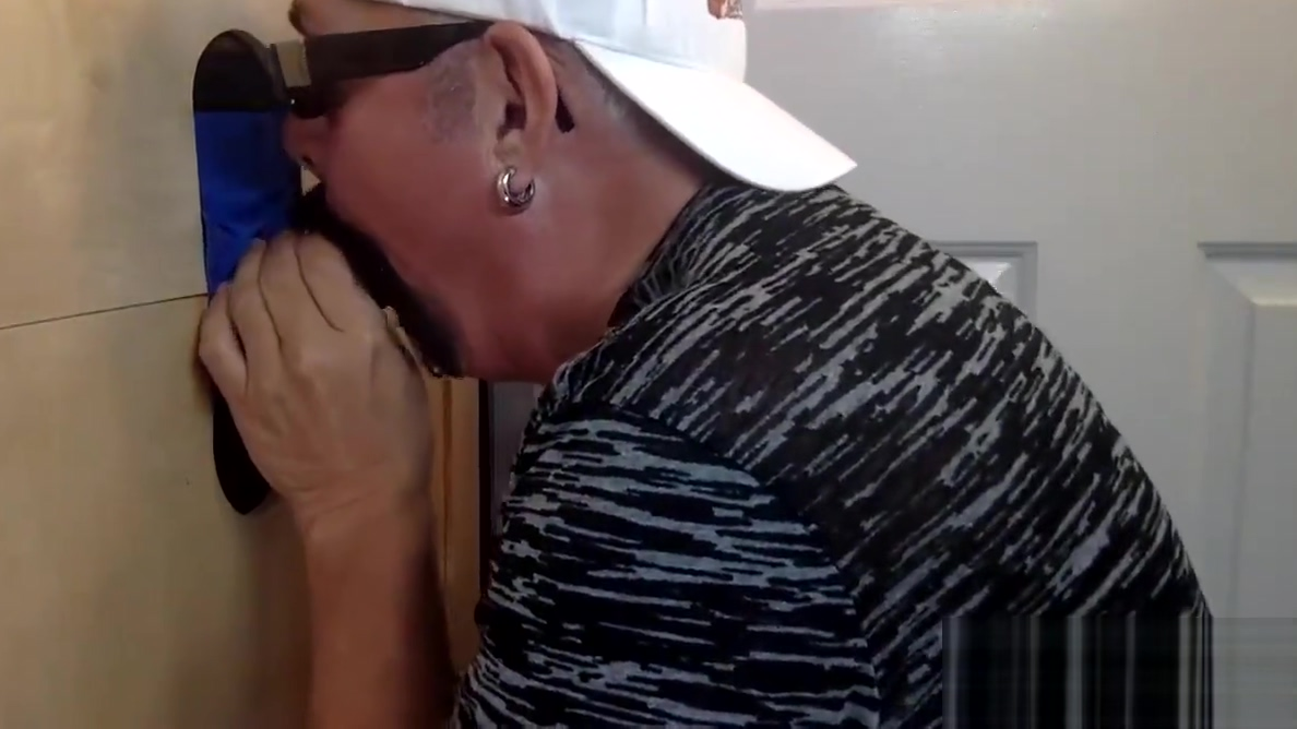 Swallowing Big Black Meat At The Gloryhole Hot Fucking Xexy