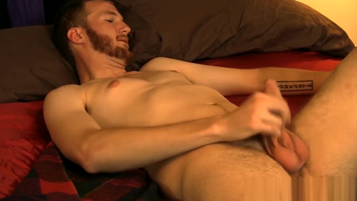 Tall and sexy Luke Mason stroking and cock playing till jizz video massage gay arab