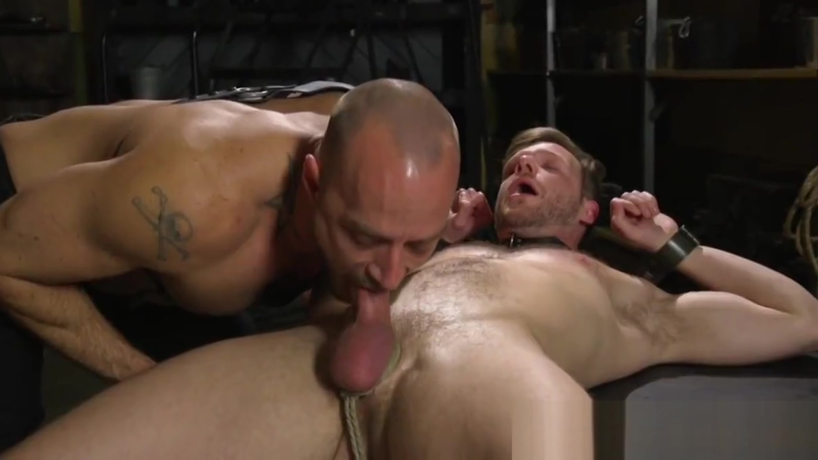 Tattooed bdsm dom edging restrained subs cock free black porn mature