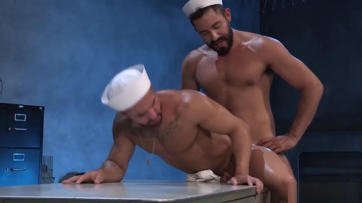 Gabriel slams into Brunos ass polish girls sex thumb