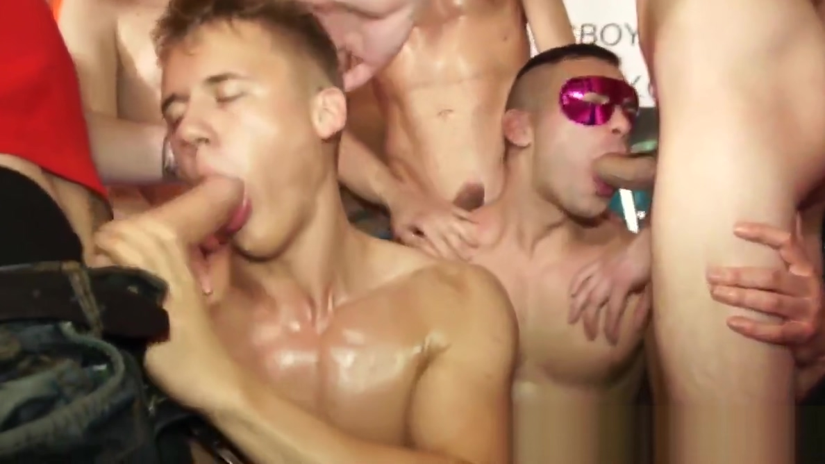 Handsome studs sucking dick during sexparty My Anniversary Fantasy