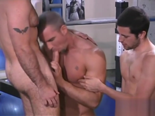 Awesome Threesome At The Gym only fukink photo free