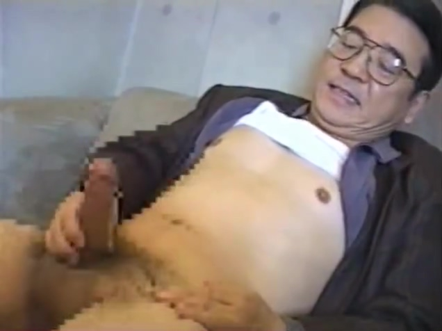 Japanese old man 61 asian pussy and ass
