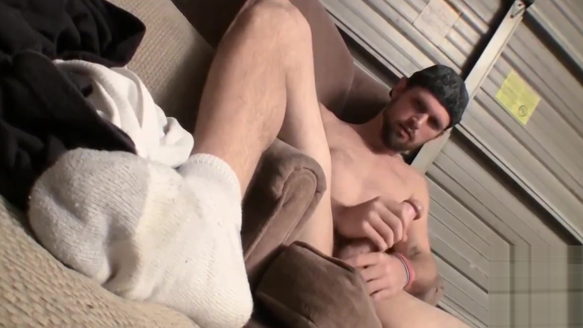 American dude working on his long dick until it sprays cum Wife watches husband get his ass fucked