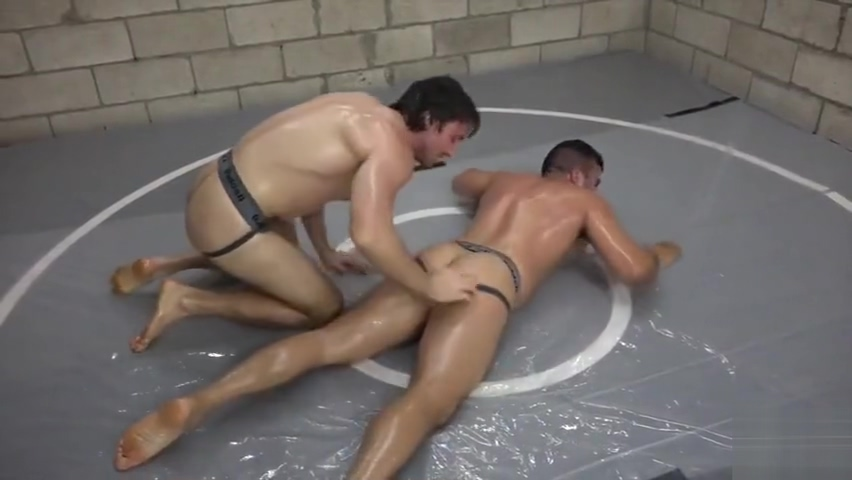 Oil n Jock Scrap Shaking legs orgasm