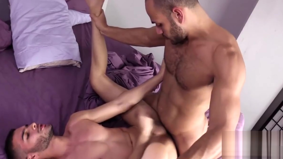 Sexy stud loves being ass fucked hard and fast by Lobo Sister revenge