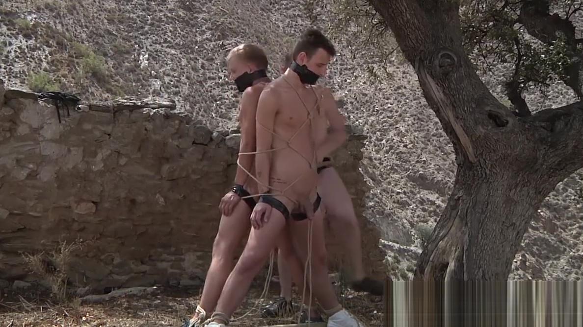 Sean Taylor fucks his slaves Reece Bentley and Chris Jansen Dayton glory holes