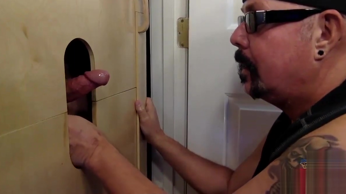 First Time At Gloryhole Daddy Cock sexy girls smell underwear