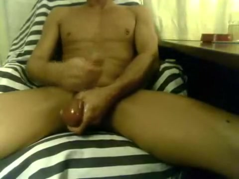 sunday jerk-off, large uncut dong, giant load with ?close up? street fighter flash porn