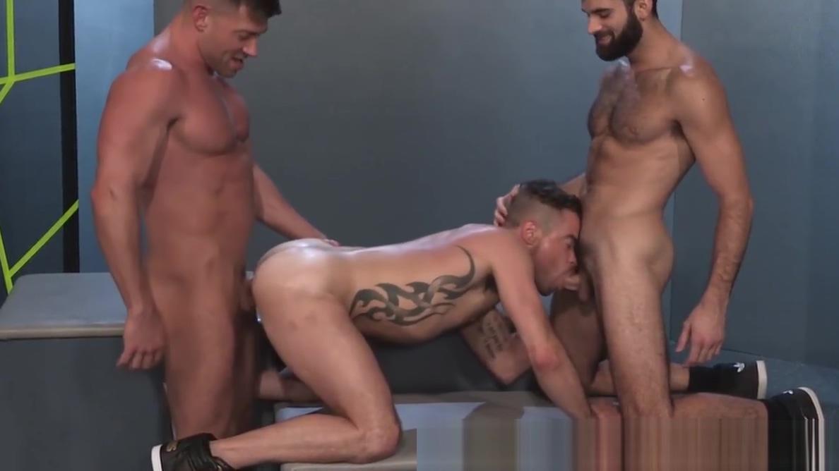 Raging Stallion 2 Hunks Share Hairy Guy gay men sucking cum videos
