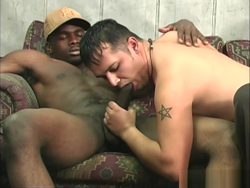 Hung black men sharing a horny white dude Creamy horny milf pov