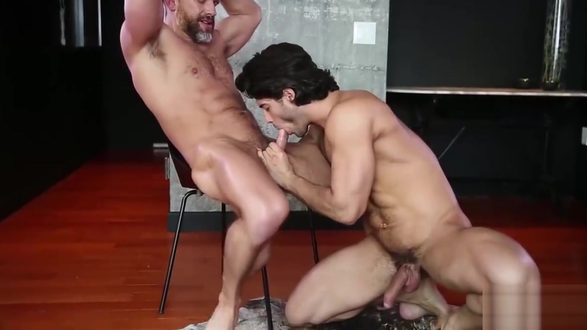 Handsome Diego Sans plows fellow aviation worker Dirk Caber How to clear up a breakout fast