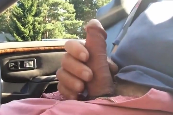 Old Man Car Stroking woman having sex with an octopus video