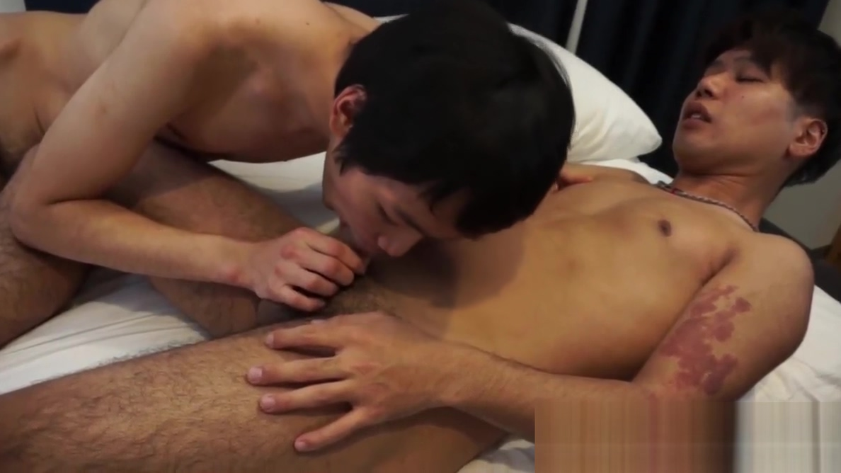 Japanese twinks suck each others cocks before anal pounding nude women of horror