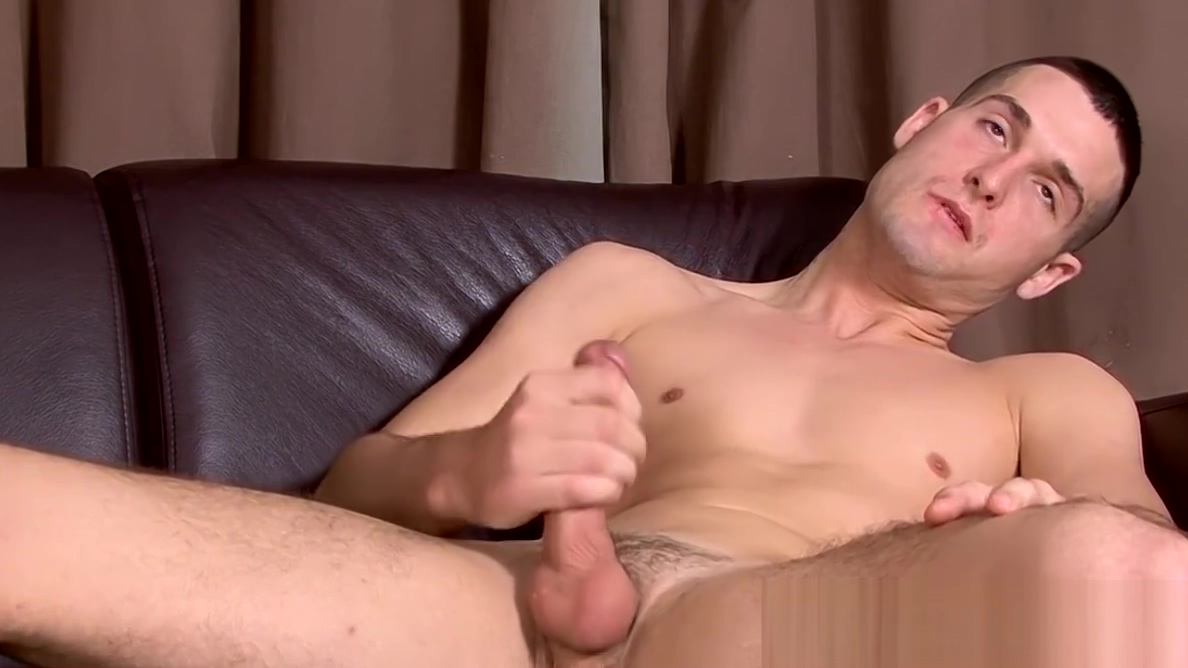 Athletic Sean Savoy oils up big cock for masturbation solo Sexy nubiles have sex