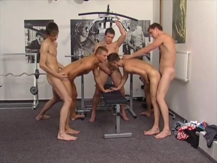 Gym Orgy bbw assess filled tubes
