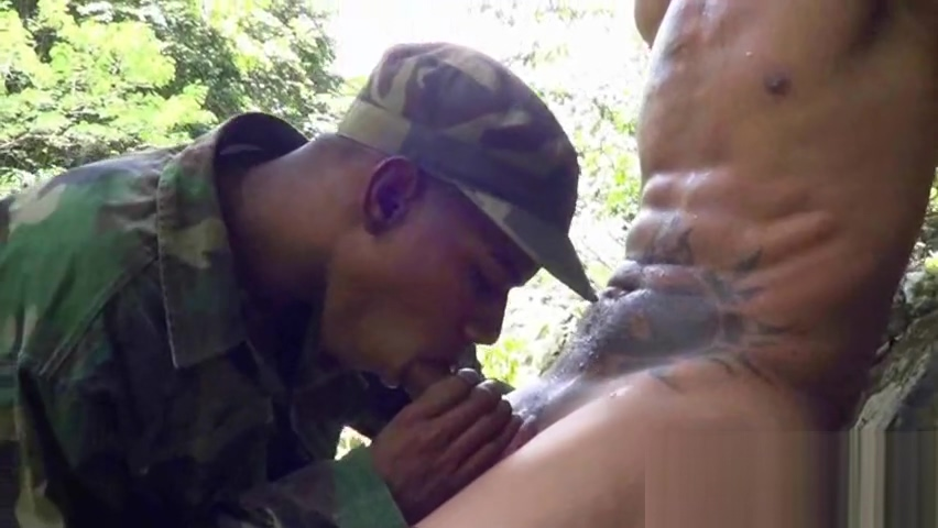 Cock-loving military lad blows a boy outdoors Hot sexy lesbian sex stories
