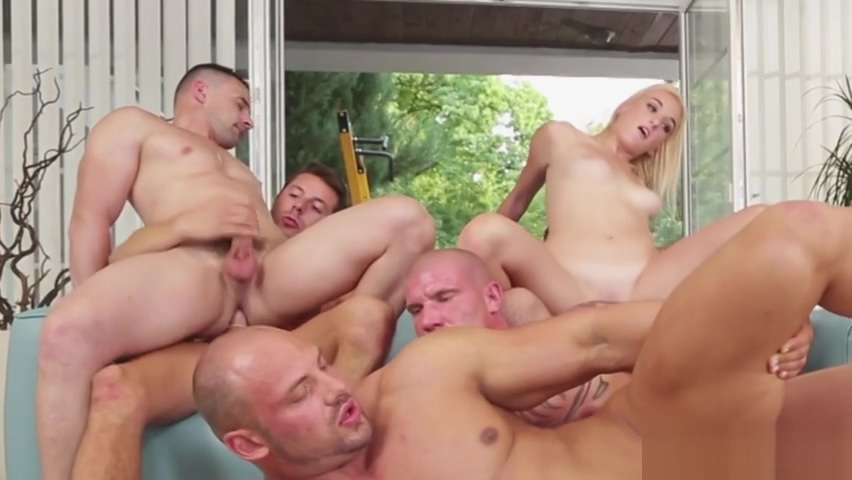 Bisexuals and blondes in group porn world nude garls movies