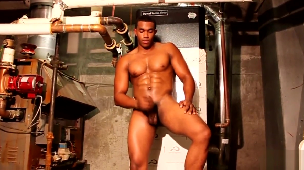 Black muscle tugging cock during solo Www sexjobs be