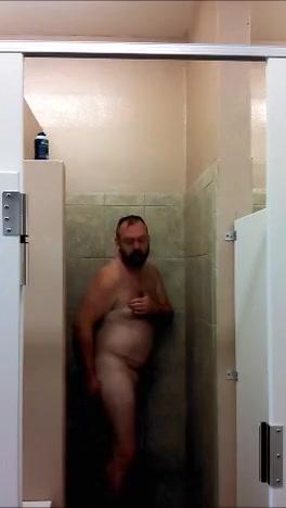 Bear in Shaving Semen shower sexy legless lady amputees