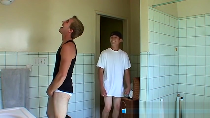 Handsome twink and his boyfriend try out new bought undies futurama porno gay fakes