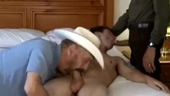 2 Old Cowboys Fuck Twink interracial porn in africa