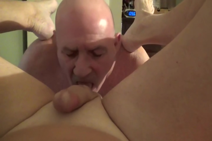 Watch me as i suck all the cum out of Stevens cock and balls i touch myself porn