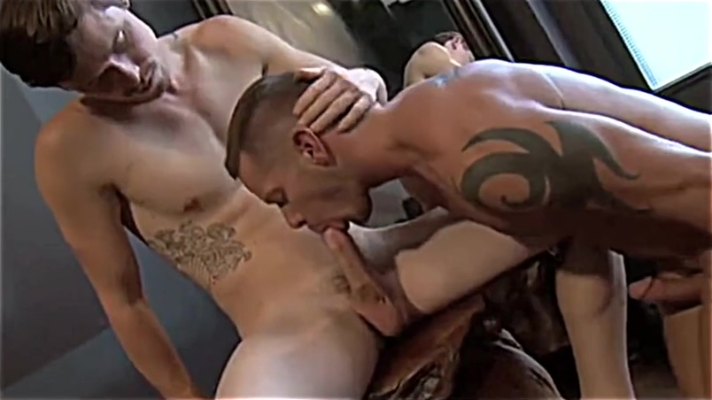 Hunks consummating their love bareback dragon and car porn