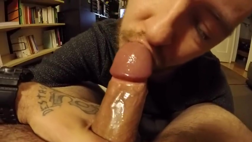 BJ FOR BEAR WITH STUBBY COCK Cdo male massage