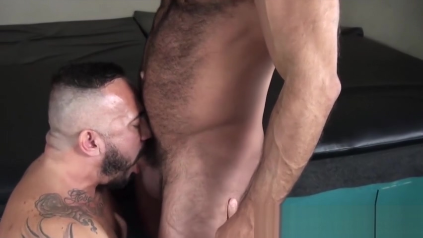 Nipple pierced hunk bouncing on handsome mans raw cock Antonym for the word intimidating
