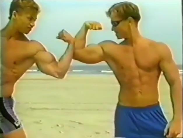 Greg Grove (Matthew Rush) on the beach Swingers club around me