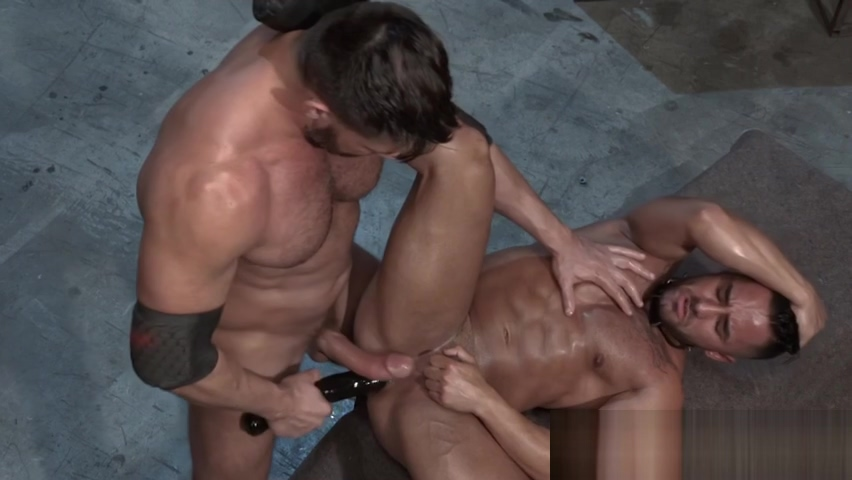 Jizzing muscly hunk caged Small tits of black man fuck