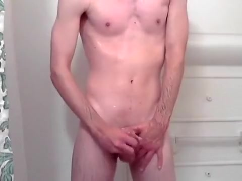 Surprise Shower Jerk Fucking a chubby blonde big tits